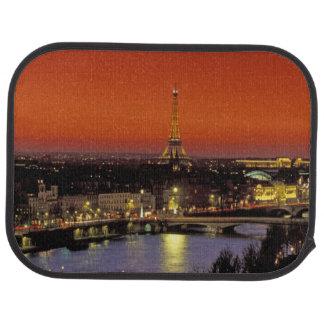 Tapis De Sol L'Europe, France, Paris. Vue de coucher du soleil