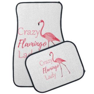 Tapis De Sol Madame folle Funny Flamingo de flamant