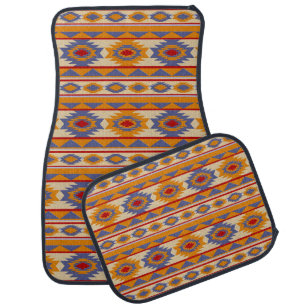 tapis de sol motif ethnique pour voiture. Black Bedroom Furniture Sets. Home Design Ideas