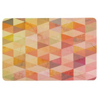 Tapis De Sol Motif géométrique de triangle molle