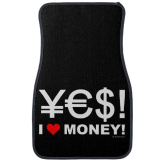 Tapis De Sol Oui ! J'aime l'argent !