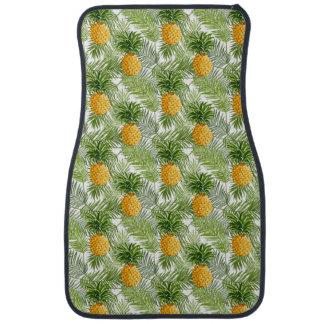 Tapis De Sol Palmettes et ananas tropicaux