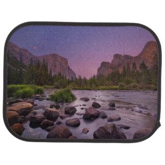 Tapis De Sol Parc national de Yosemite au crépuscule