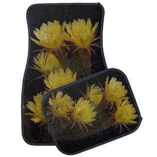 Tapis De Sol Quintuple de fleurs de cactus