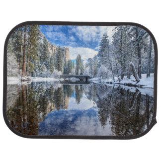 Tapis De Sol Réflexion d'hiver chez Yosemite