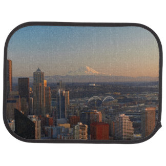 Tapis De Sol Vue aérienne de l'horizon 2 de ville de Seattle