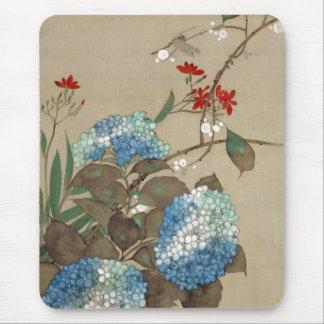 Tapis De Souris 紫陽花, hortensia de 抱一, Hōitsu