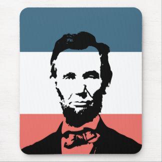Tapis De Souris 16ème président d'Abraham Lincoln