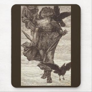 Tapis De Souris 1871 Odin, Dieu des norses de la guerre