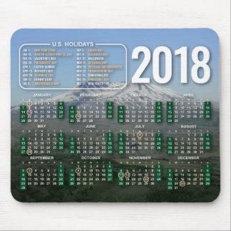 Tapis De Souris 2018 calendrier Mousepad le Mont Saint Helens