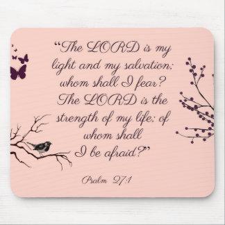 Tapis De Souris 27:1 de psaume