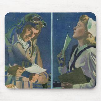 Tapis De Souris 2ÈME GUERRE MONDIALE pilote et romance de fond