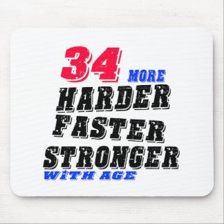 Tapis De Souris 34 plus forts plus rapides plus durs avec l'âge