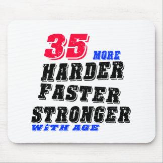 Tapis De Souris 35 plus forts plus rapides plus durs avec l'âge