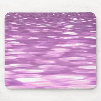 Tapis De Souris #3 abstrait : Miroitement lilas