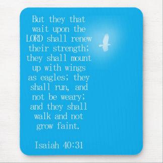 Tapis De Souris 40:31 d'Isaïe