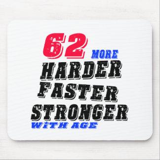 Tapis De Souris 62 plus forts plus rapides plus durs avec l'âge