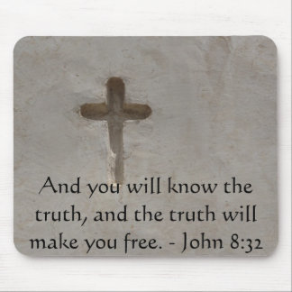 Tapis De Souris 8h32 inspiré de John de VÉRITÉ de vers de bible