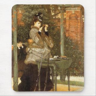 Tapis De Souris À la chaîne de fusil par James Tissot, art vintage