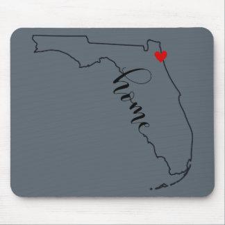 Tapis de souris à la maison de la Floride