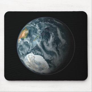 Tapis De Souris À pleine vue de la terre accentuant l'Antarctique