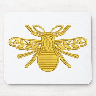 Tapis De Souris abeille royale, imitation de broderie