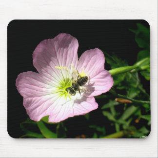 Tapis De Souris Abeille sur la fleur