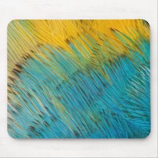 Tapis De Souris Abrégé sur plume de perroquet d'Amazone