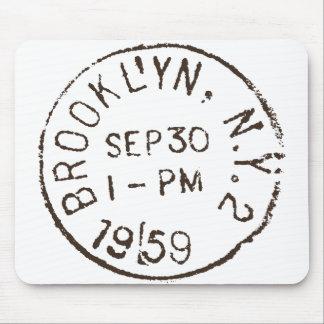 Tapis De Souris affranchissement à la mode de New York City de nyc