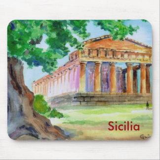 Tapis De Souris Agrigente Sicile