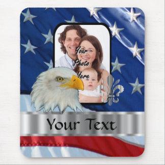 Tapis De Souris Aigle américain patriotique