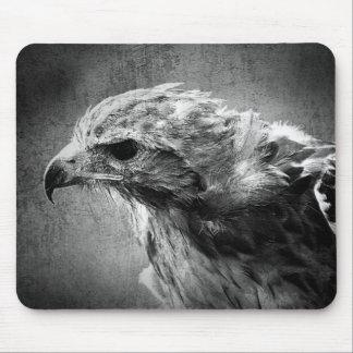 Tapis De Souris Aigle noir et blanc
