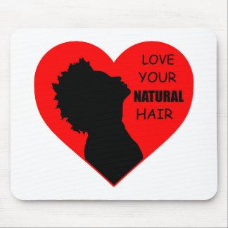 Tapis De Souris Aimez vos cheveux naturels