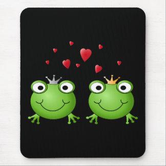 Tapis De Souris Ajouter de grenouille aux coeurs