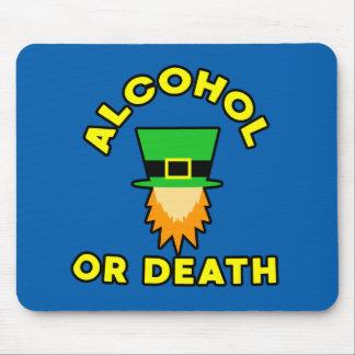 Tapis De Souris Alcool ou mort