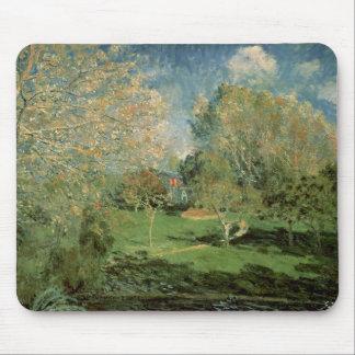 Tapis De Souris Alfred Sisley | le jardin de la famille de
