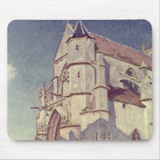 Tapis De Souris Alfred Sisley | l'église chez Moret