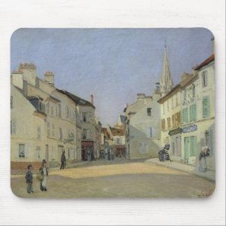 Tapis De Souris Alfred Sisley | Rue de la Chaussee à Argenteuil