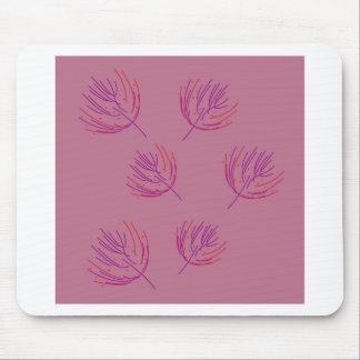 Tapis De Souris Algues roses