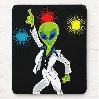 Tapis De Souris Alien de disco