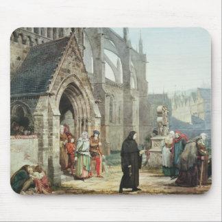 Tapis De Souris Alma-Tadema   Faust et marguerite des prés, 1857