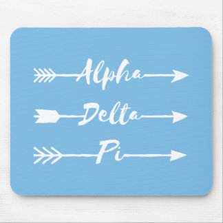 Tapis De Souris Alpha flèches du delta pi |