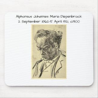 Tapis De Souris Alphons Johannes Maria Diepenbrock 1900