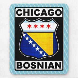Tapis De Souris Américain bosnien de Chicago