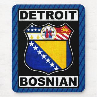 Tapis de souris américain bosnien de Detroit