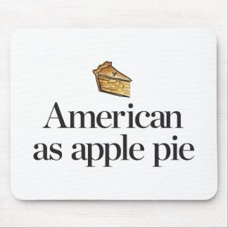 Tapis De Souris Américain comme tarte aux pommes
