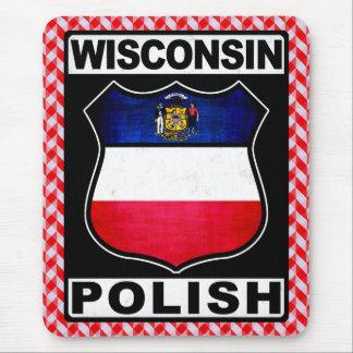 Tapis de souris américain polonais du Wisconsin