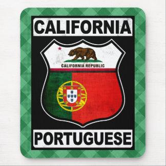 Tapis de souris américain portugais de la