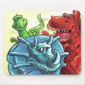 Tapis De Souris Amis de dinosaure