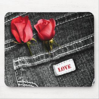 Tapis De Souris Amour. Cadeau Mousepads de Saint-Valentin de